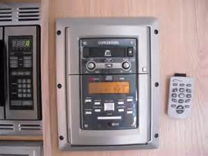 Wall Mounted Radio For Kitchen Rv Net Open Roads Forum Travel Trailers Concertone Wall