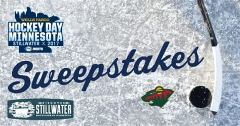 Minnesota Sweepstakes - hockey day minnesota sweepstakes discover stillwater