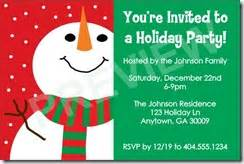 And holiday party invitation templates for you to customize online