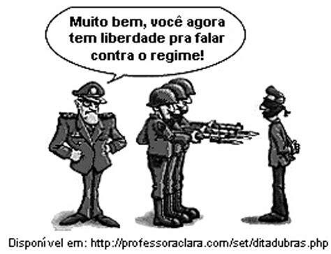 Brasil Ditadura Militar 2012 ditadura militar no brasil quest 245 es de vestibulares