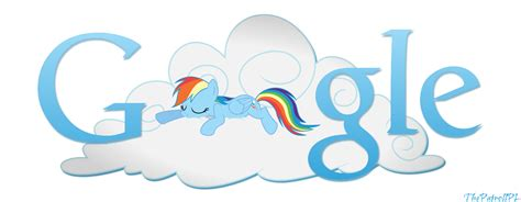 google themes rainbow rainbow dash google logo by thepatrollpl on deviantart