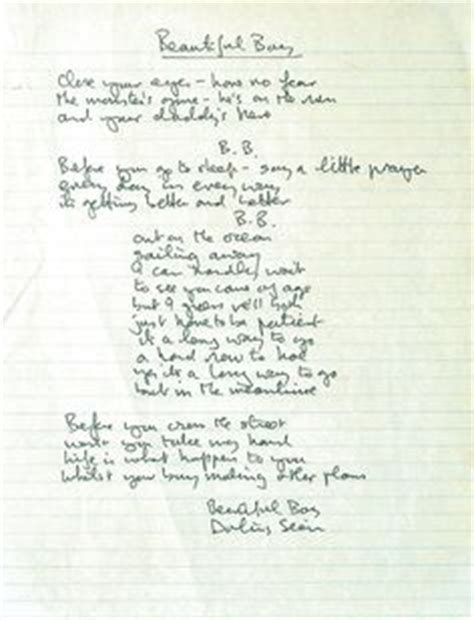 dreamcatcher lullaby lyrics 1000 images about all things john lennon on pinterest