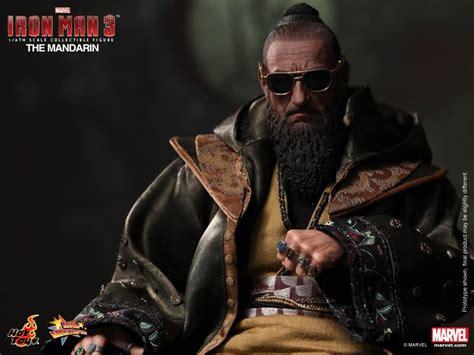 film mandarin new new iron man 3 hot toys the mandarin silver centurion