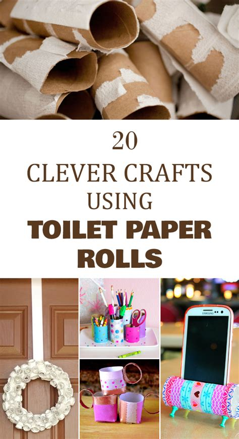 Craft Using Toilet Paper Rolls - 20 clever crafts using toilet paper rolls