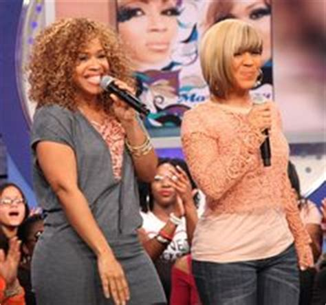hair weave advertised on yolonda adams morning show erica cbell of mary mary loves pulling tress