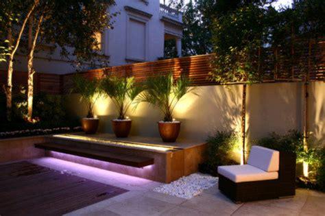 designing successful small gardens lighting  basic
