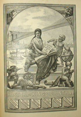View New York City Brooklyn Illustrated History