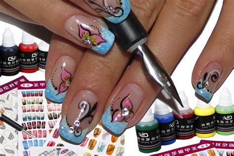 Nail Pen Set by Tmart Nail Pen Set With Painting Pigment Review And