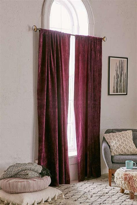 long velvet curtains curtains extraordinary velvet curtain for home