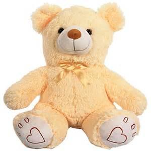 beige bear soft toy online shopping