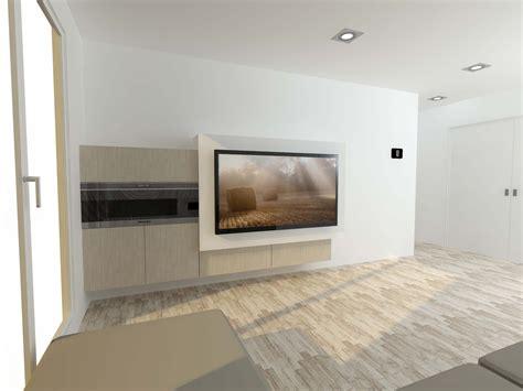 chimenea y television salon con chimenea y television excellent chimenea