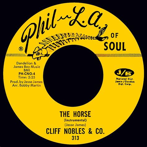 song of the day the horse by cliff nobles co internetfm