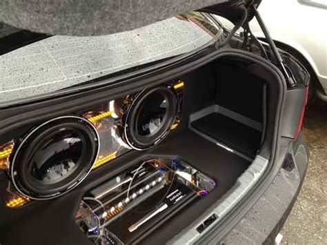 Kickers Safety Boot Orin bmw 328 trunk custom made by affliction car audio yelp