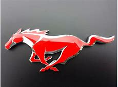 "Ford Mustang emblem aka ""The Pony"" badgeskin Red Honda Emblem"