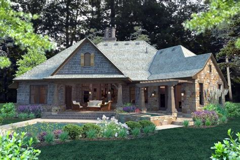 country cottage house plans cottage craftsman french country house plan 75134