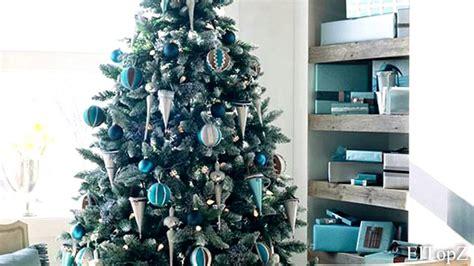 arbol navidad azul 193 rbol de navidad decorado en azul decora tu 225 rbol