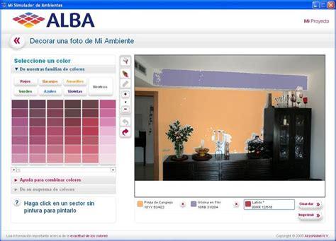simulador de colores de pinturas para interiores alba mi simulador de ambientes descargar