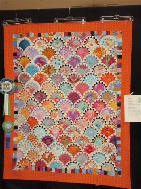 Clamshell Quilt Guild by Gardens Happy And On