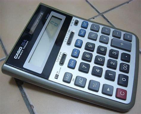 Kalkulator Casio Seri Financial casio ds 1l casio pocket computers calculators