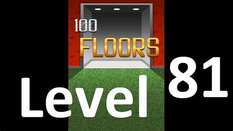 100 floors level 89 walkthrough android 100 floors level 81 l 246 sung home plan