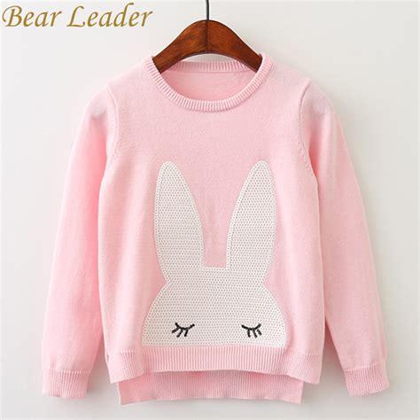 Outerwear Sweater Rabbit Sweater leader sweaters 2017 winter pullover children sweaters rabbit sleeve
