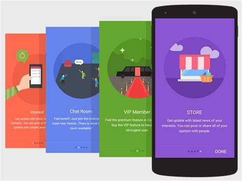 material design tutorial video 17 best images about app intro on pinterest l wren scott