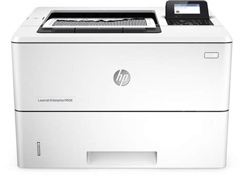 Printer Laserjet Black And White hp laserjet enterprise m506dn black and white printer hp store uk