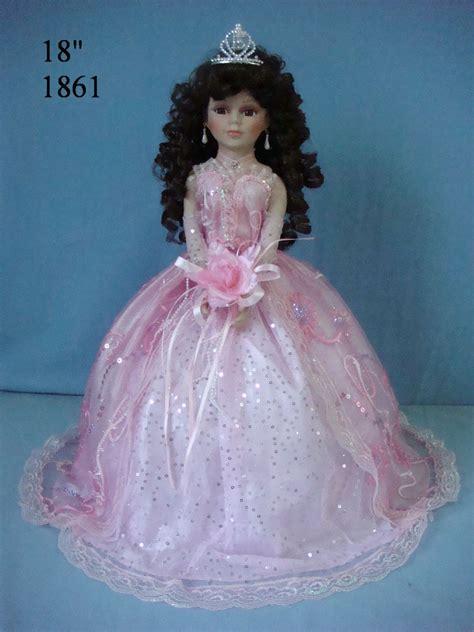 porcelain quinceanera doll 1861pink 18 inches quinceanera umbrella dolls porcelain