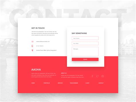 design inspiration footer ui inspiration footers