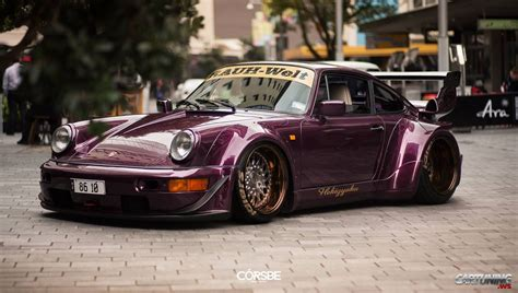 stanced porsche 911 widebody stanced porsche 911 rauh welt