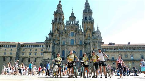 santiago de compostela camino the way of st guided portugal bike tours