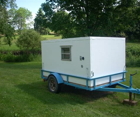 home built trailer plans image gallery homemade mini cer