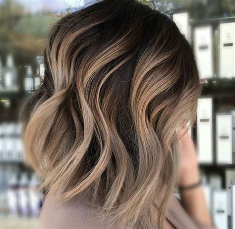 brown on blonde hair fade dark brown hairs the 40 hottest short haircuts for 2016 ombre dark brown