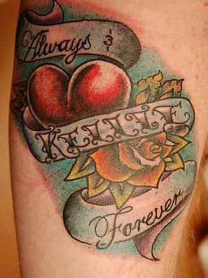 tattoos for your girlfriend your s or s name forbidden tattoos askmen