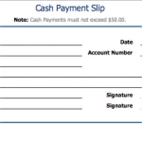payment slip template equipment check out sheet template sle format