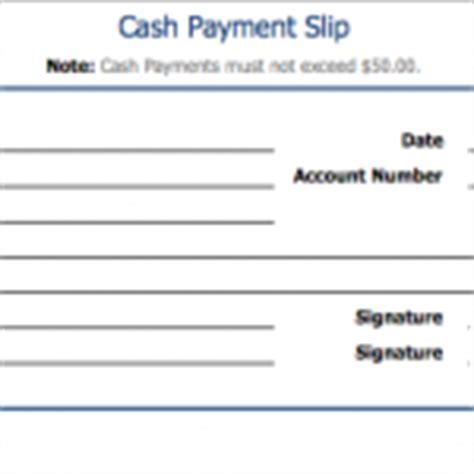 salary slip template sle format
