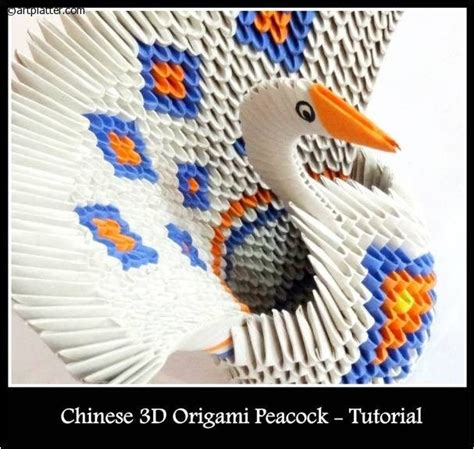 tutorial origami 3d in italiano 17 best images about 3d origami on pinterest peacocks
