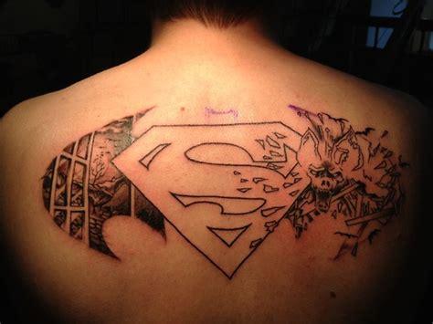 logo tattoo man 100 wonderful superman tattoos