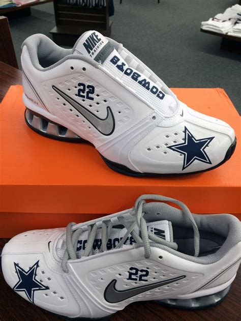 custom sneakers for sale s custom dallas cowboys emmitt smith nike reax