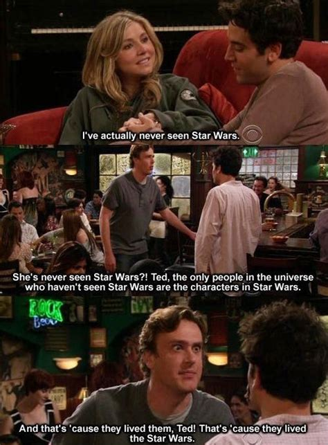 Himym Memes - i ve actually never seen star wars weknowmemes