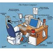 The Perfect Computer  Funny Cartoons
