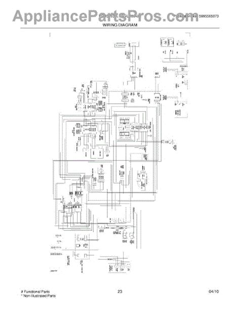 parts for frigidaire fgus2642lf0 wiring diagram parts