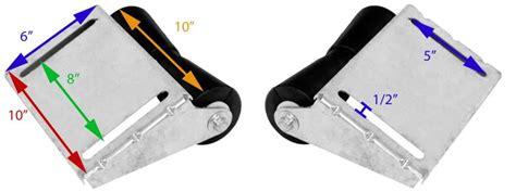 boat trailer roller dimensions ce smith deep v keel roller assembly for boat trailers