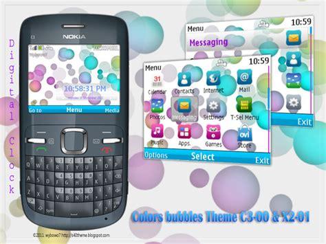 rose theme x2 s40 theme free download colors bubbles theme c3 00 x2 01
