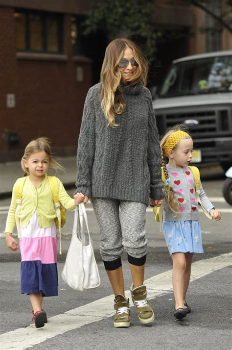 sarah jessica parker with her daughter is sarah jessica parker hinting at a third sex the city