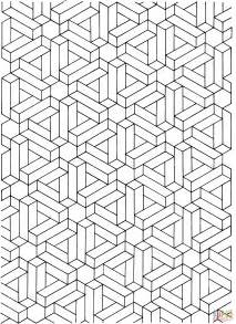 coloring pages illusions optical illusion 13 coloring page free printable