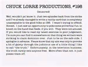 Lorre Vanity Cards The Big Bang Theory Vanity Cards The Big Bang Theory S