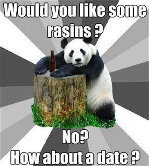 Pick Up Line Panda Meme - pick up line meme