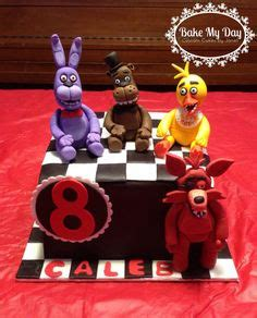 Five nights at freddy s cake www facebook com custombyjanet more cake