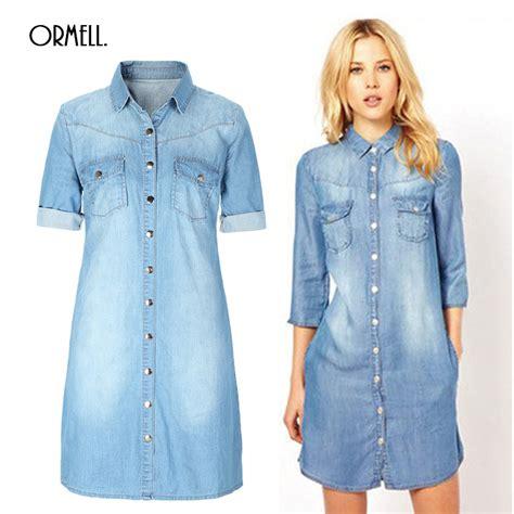 Dress Ebuty Denim popular blue jean dresses for buy cheap blue jean